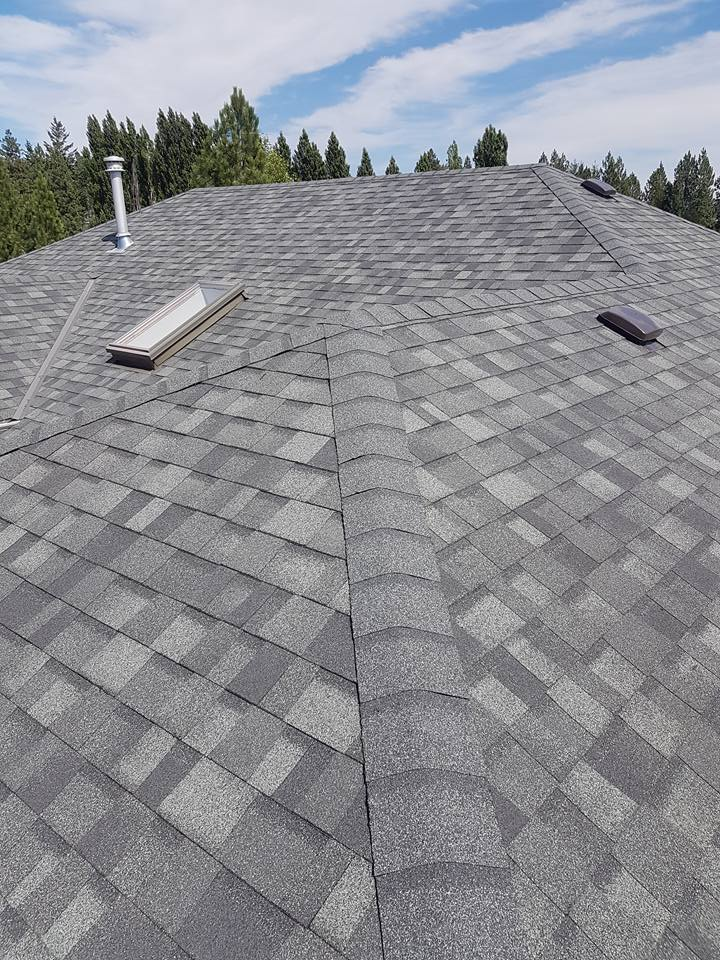 Estate Grey Owens Corning Laminate Shingles